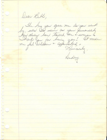 Woody's Letters